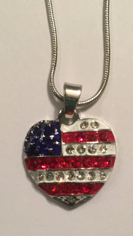 American Heart Necklace - Jewelry