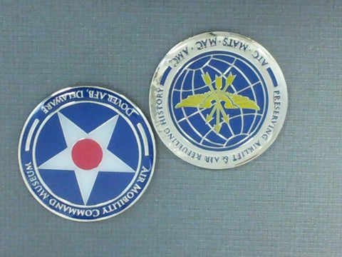 Air Mobility Command Museum Challenge Coin