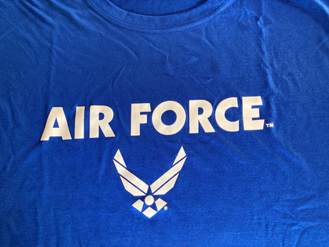 Air Force  T-Shirt  Hap Arnold   Medium Blue       Sport Tek         Apparel