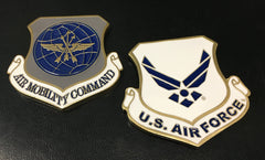Air Mobility Command Shield Challenge Coin