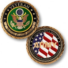 US Army Veteran Challenge Coin