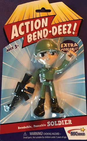 Bend Deez  Military Man Toy