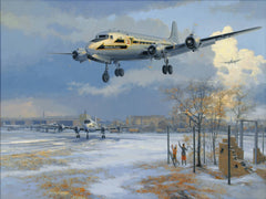 Berlin Airlift Giclée Print    LIMITED SUPPLY