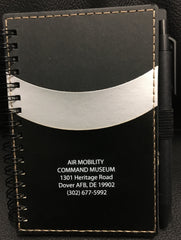 AMC Museum Notebook with Pocket & Pen