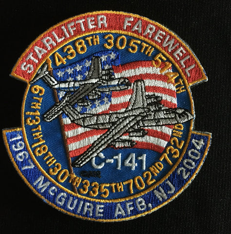 C-141 Starlifter Farewell Patch