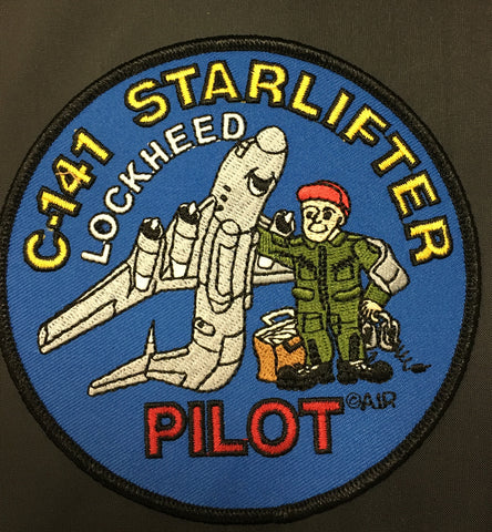 C-141 Starlifter Pilot Patch