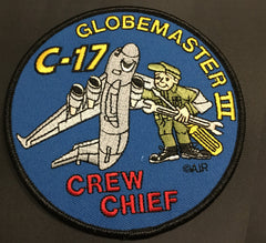 C-17 Globemaster III Crew Chief  Patch