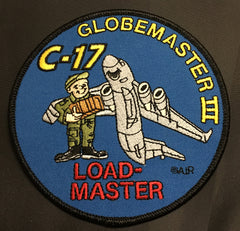 C-17 Globemaster III Loadmaster Patch