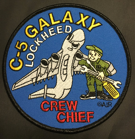 C-5 Galaxy Crew Chief Patch
