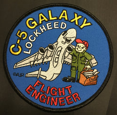 C-5 Galaxy Flight Engineer Patch