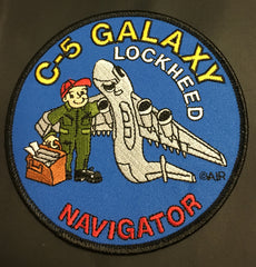 C-5 Galaxy Navigator Patch
