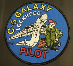 C-5 Galaxy Pilot Patch