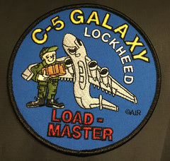 C-5 Galaxy Loadmaster Patch