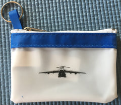 Airplane Coin Purse