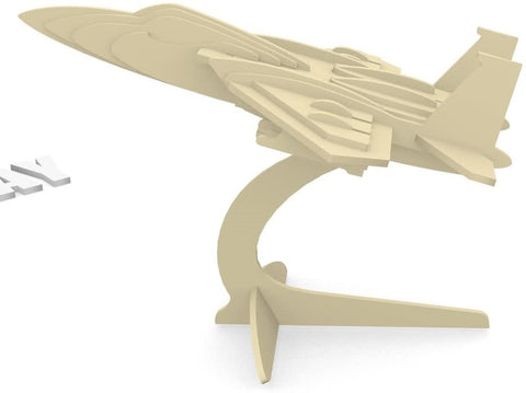 F-15 Fighterplane 3-D Puzzle    Toy