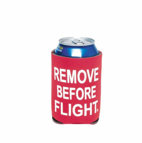 Remove Before Flight Koozie