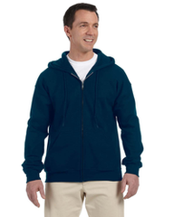 Dover AFB Embroidered Zip Hoodie Sweatshirt