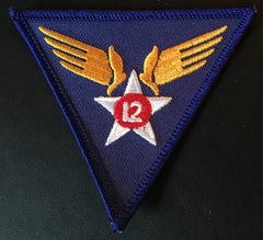 12th Air Force Patch