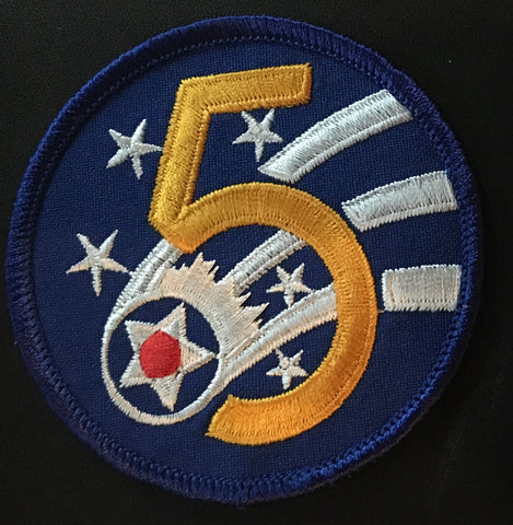 5th Air Force Patch