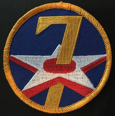 7th Air Force Patch