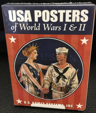 Playing Cards-  USA Posters of WWI & WWII