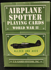 Playing Cards- Airplane Spotter WWII