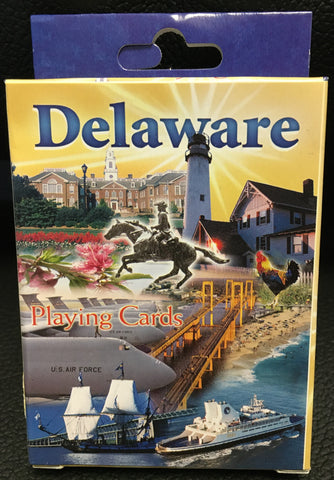 Playing Cards-  Delaware