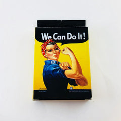 Rosie the Riveter WE CAN DO IT playing cards