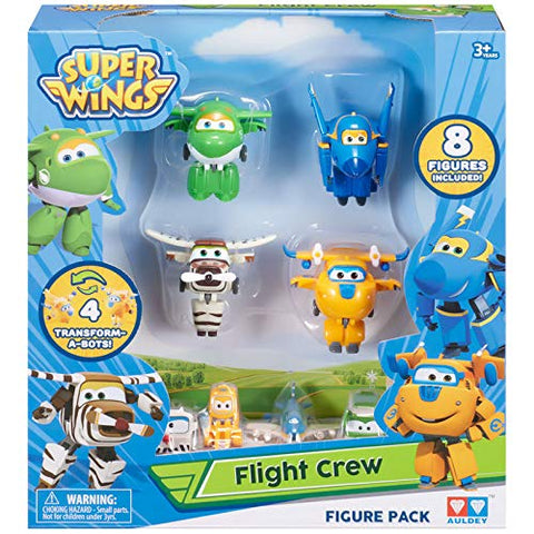 Super Wings Flight Crew Toys