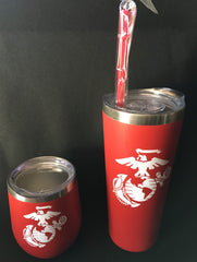US Marine Corps  Stainless Steel Tumbler    Gifts