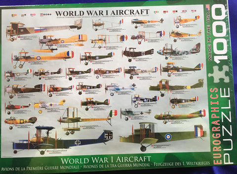 World War I Aircraft    Puzzle      Toy