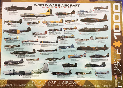 World War II Aircraft    Puzzle      Toy