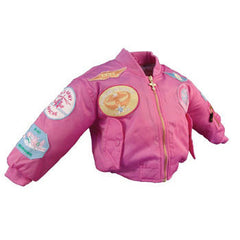 Children's Pink MA-1 Jacket