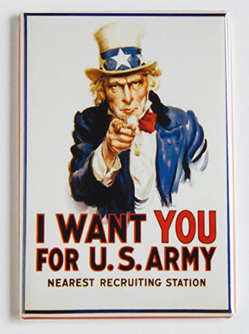 I want you for US ARMY magnet