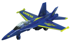 Diecast Pullback - F-18 Hornet Blue Angels