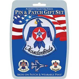 Thunderbirds Pin and Patch Set