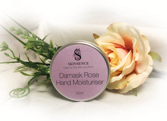 Damask Rose Hand Cream