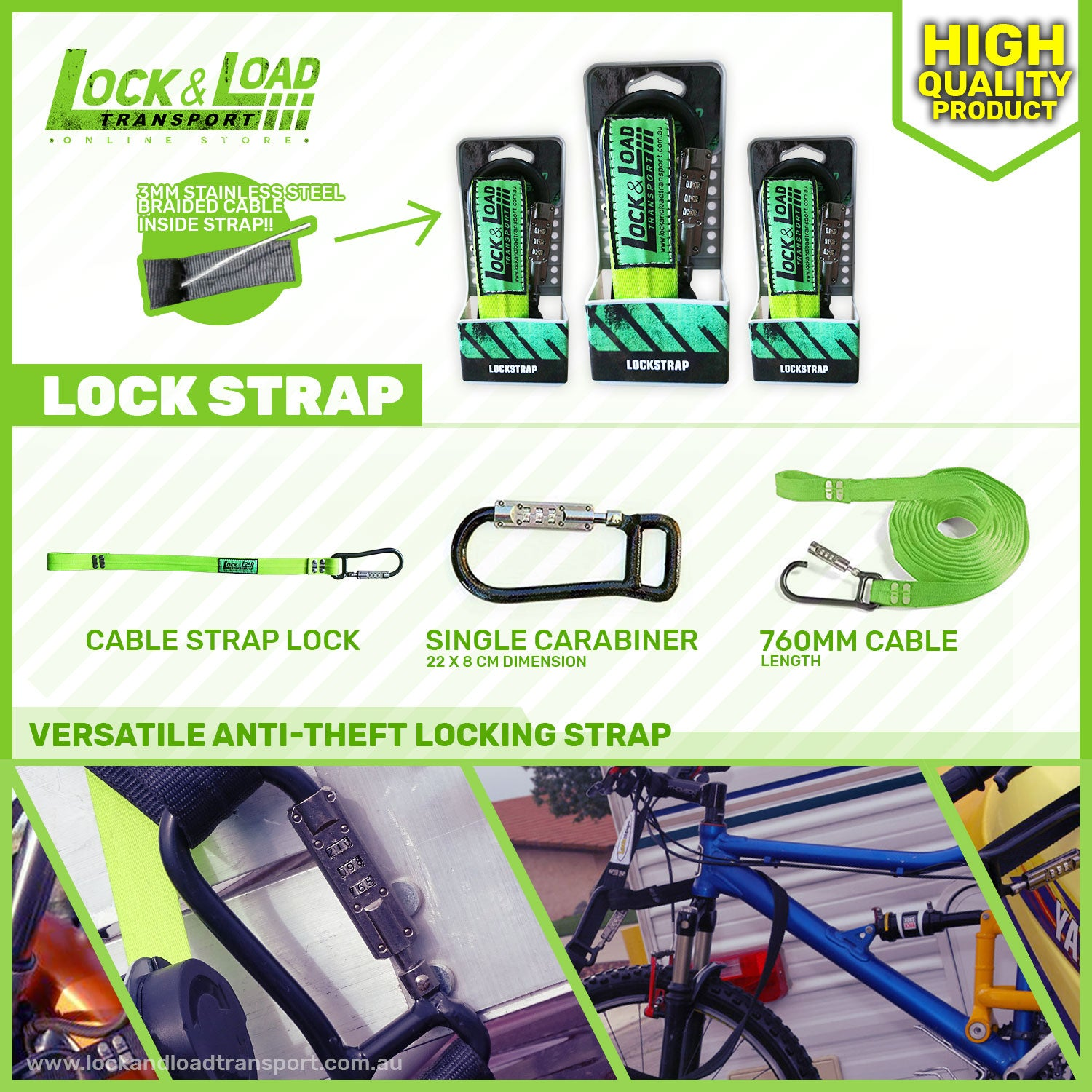 Lock and Load New Product - Lockstrap on its way to our store. Pre-order now!
