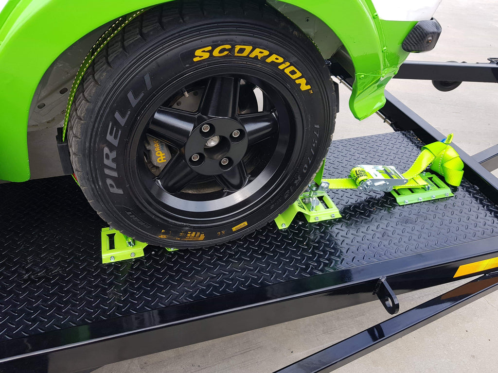 E Track and Wheel Chock Combo Kit