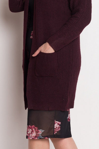 Debra - Ribbed Cardigan