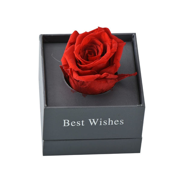Best Friend Gift - Artificial Red Ecuador Eternal Rose with Quality Gift Box