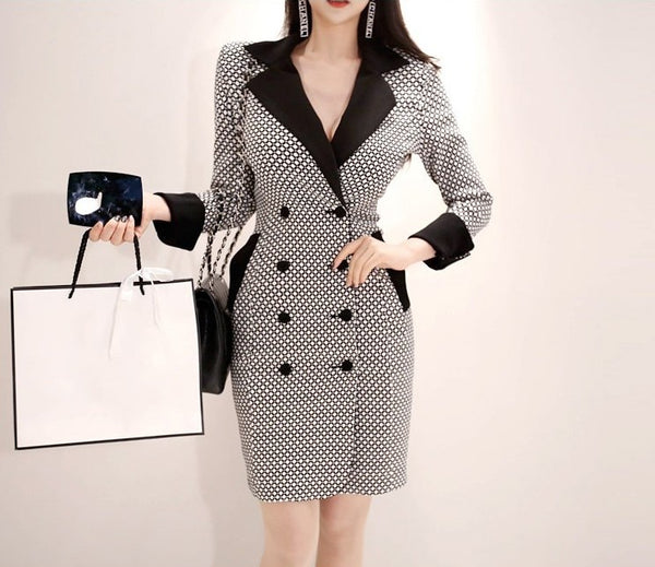 Quinn - Business Bodycon Blazer Dress