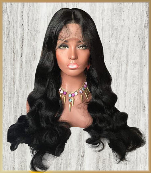Front Lace -Body Wave Unit - Edgy Tresses