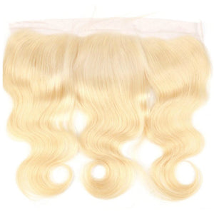 Lace Frontal Russian Blonde - Body Wave - Edgy Tresses
