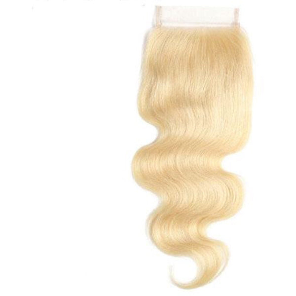 Russian Blonde Closures (613) - Edgy Tresses
