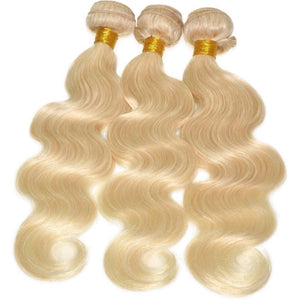 Russian Blonde Bodywave (613) - Edgy Tresses