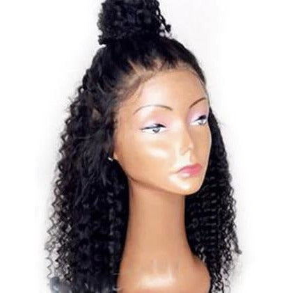 Full Lace Wig- Brazilian  Curly - Edgy Tresses