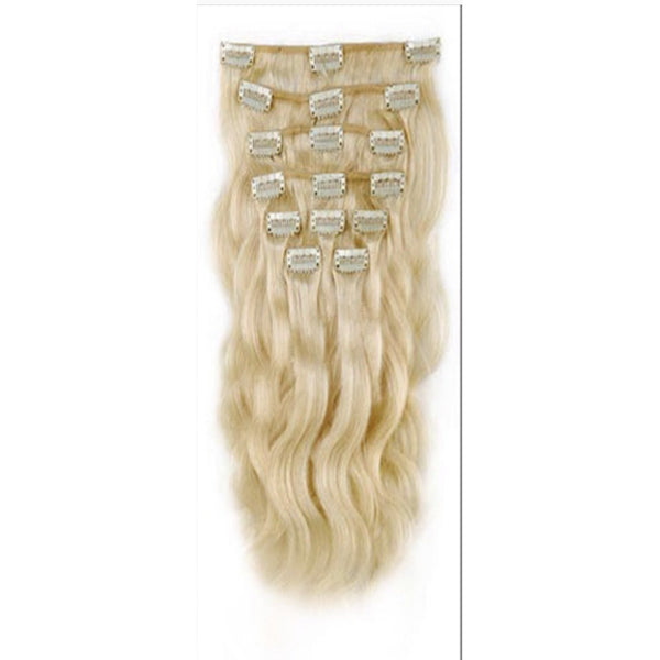 Blonde (613) Clip Ins Body Wave - Edgy Tresses