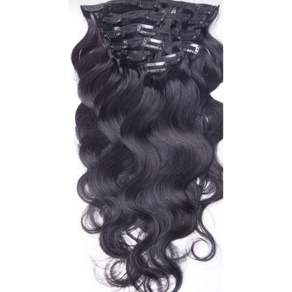 Body Wave  Clip Ins - Edgy Tresses