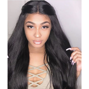 Front Lace Wig-Straight - Edgy Tresses